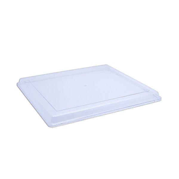 Cristalpac Lid for Clear Rectangular Plastic Box
