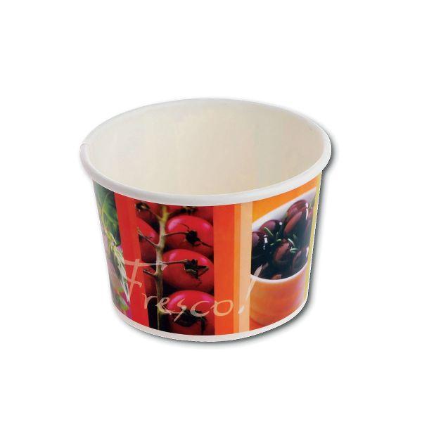 Fresco! Printed Paper Container 16oz