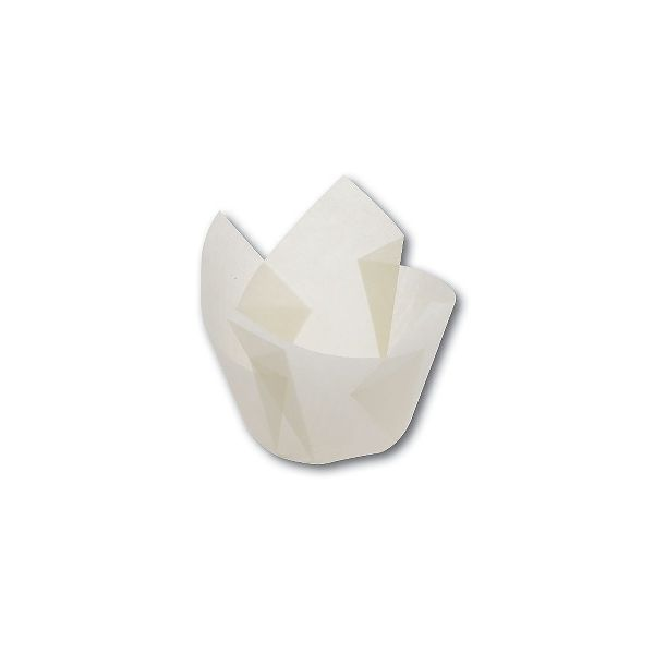 Grease-Proof Slip-Easy Paper Tulip Cups