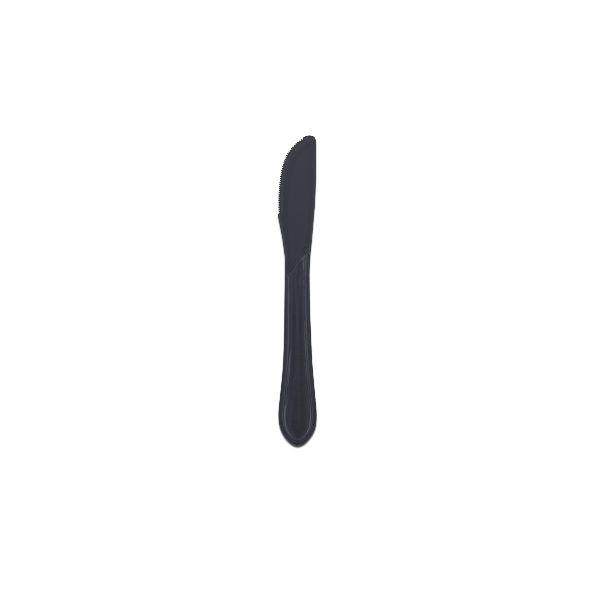 Heavy Duty Plastic Knife 6.5in - Black
