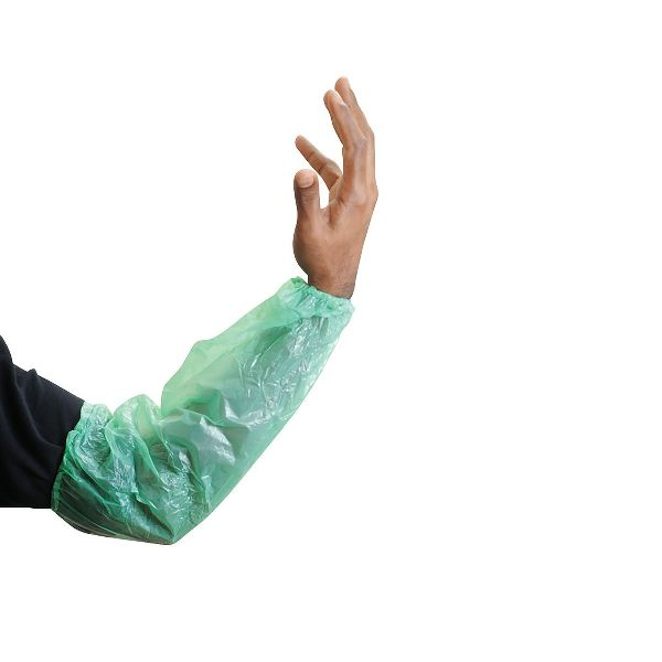 LDPE Sleeve Cover 20x40cm Green