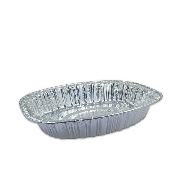 Oval Aluminium Container 440x340x80mm