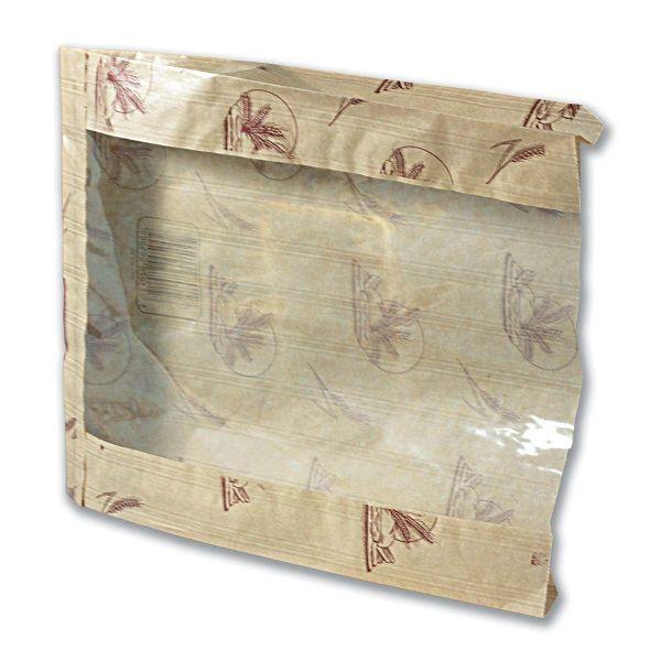 Paper Bread Bag w/ Window