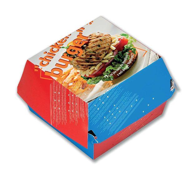 Paper Chicken Burger Box