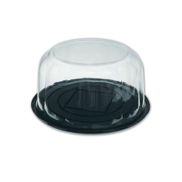 Pastripac 230x110mm Black Base Clear Dome Lid