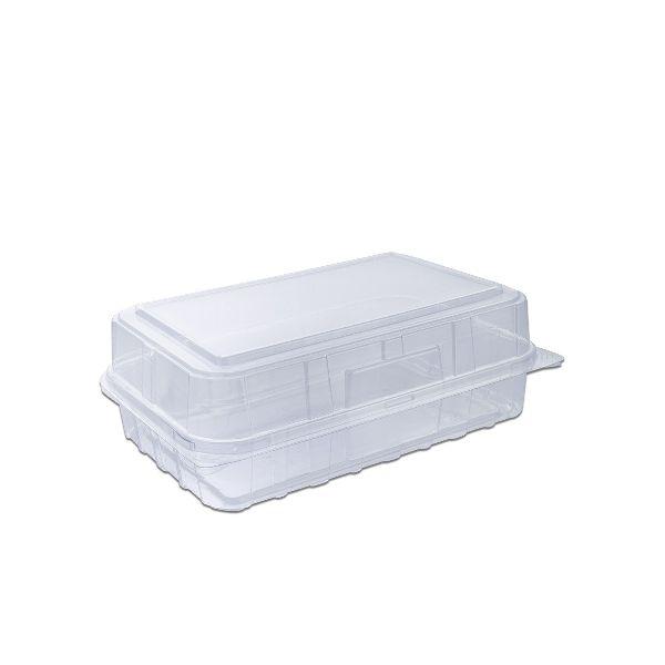 Pastripac Mini-Croissant Box W/Hinged Lid