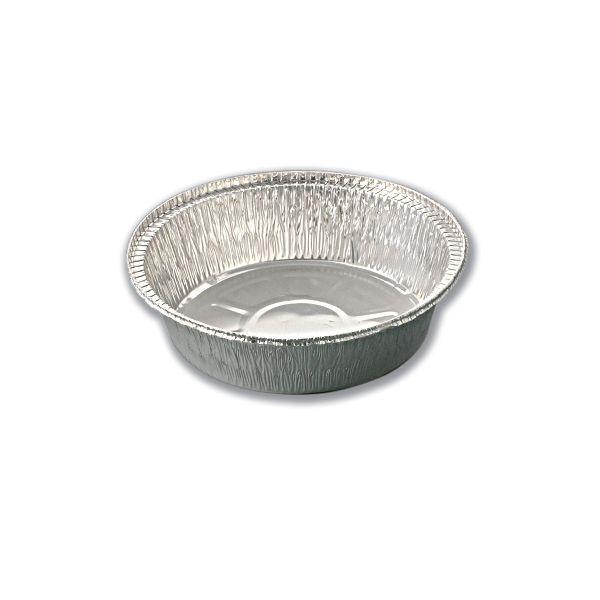 Round Aluminium Container