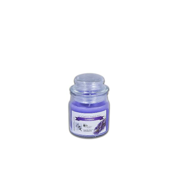 Scented Candles in Round Jar 6x9cm - Lavender