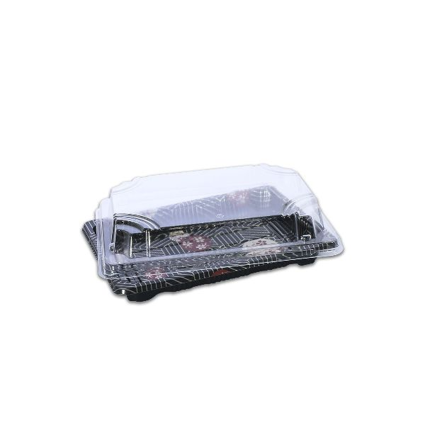 Sushipac Black Sushi Container Lid
