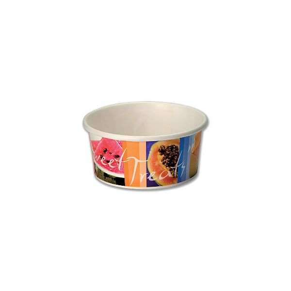Sweet Treats Cardboard Ice Cream Tub 6oz