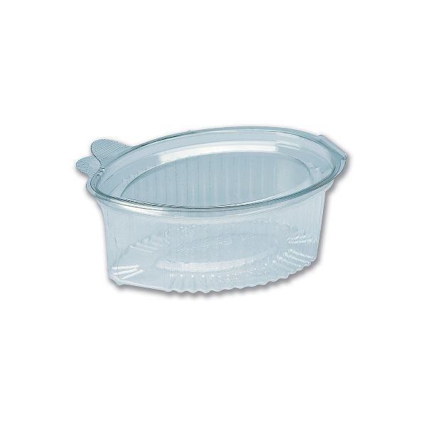 Clear Leaf-Shaped Portion Cup Lid