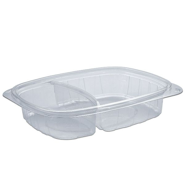 Tutipac 2-Comp Clear Hot Multipurpose Containers PP