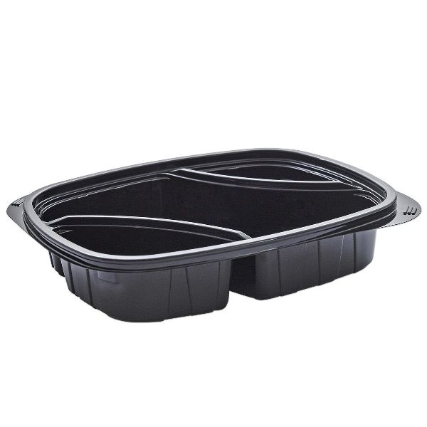 Diagonal Black Cold Multipurpose plastic Containers