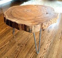 Round Slab Side Table