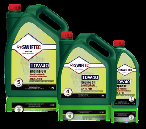 Semi Synthetic Engine Oil