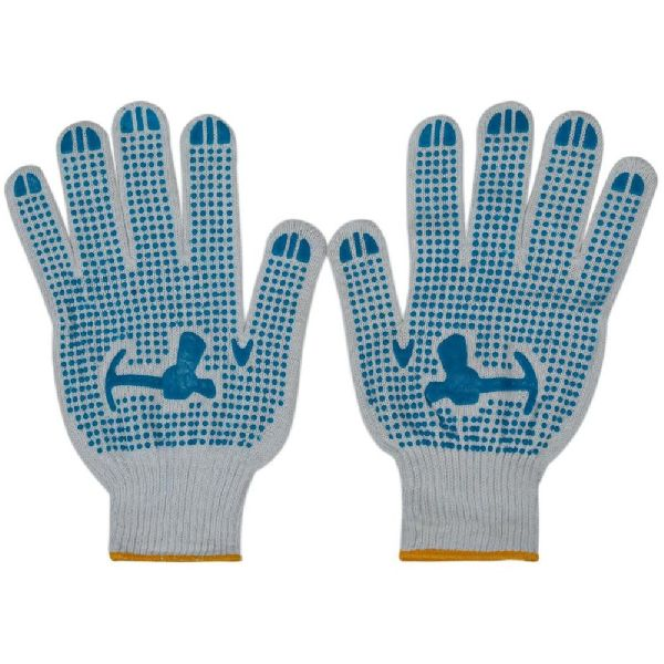 NH19BD PVC Dotted Cotton Glove