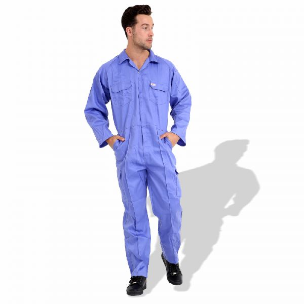 P989BL Cotton Pre Shrunk Coveralls