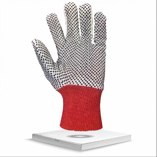 Polka Dot Cotton Drill Gloves NH16