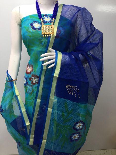 Kota Doria Designer Suits