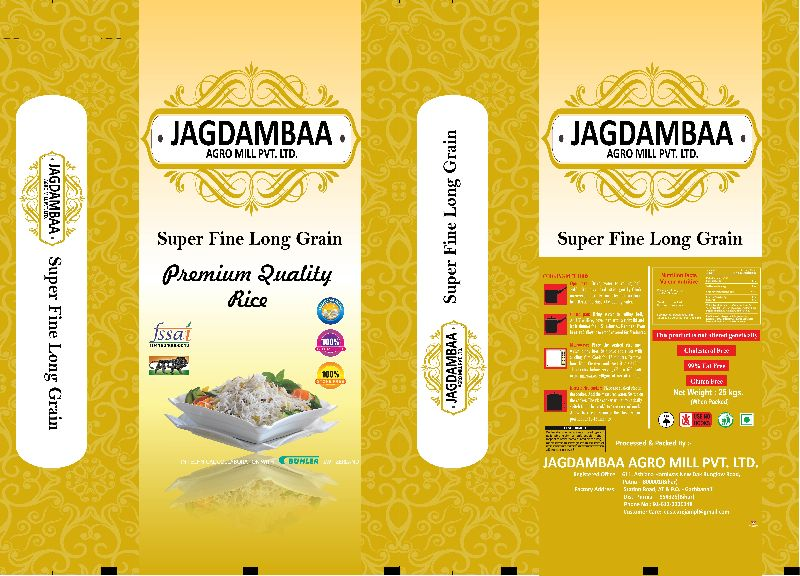 Jagdambaa Long Grain  Rice