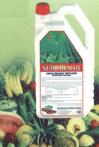 Nutri Humate Liquid Organic Fertilizer
