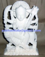 alian Marble Durga Maa Statue
