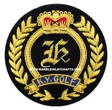 Bullion Wire Fancy Badges