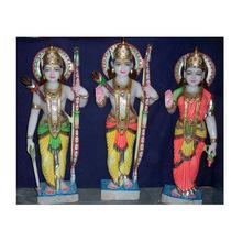 Colorful Designed Ram Darbar Sculpture
