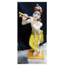 God Krishna Marble Murti