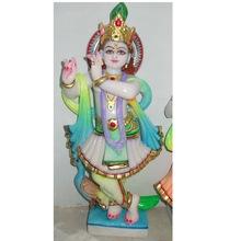 Handmade Marble Krishna Statue