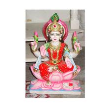 Handmade Marble Laxmi Statues
