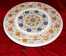 Inlay Dining Marble Top