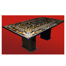 Marble Inlay Decorative Dining Table Top