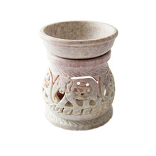 Soap stone white Aroma Oil Burner