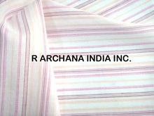 Cotton Dobby Jacquard Shirting Fabric