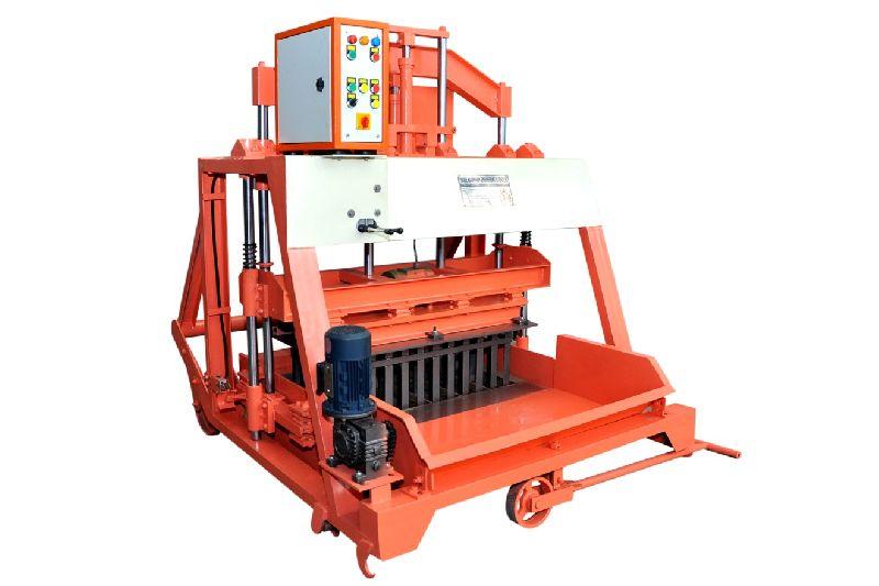 860mm Triple Vibrator Double Stroke Concrete Block Making Machine