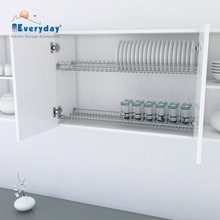 Plate and Glass Wall Rack