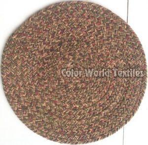 Cotton Round Braided Mat