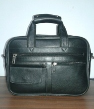 Real Leather Briefcase Hand Tote Bags