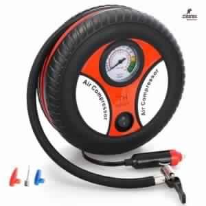 Clearex 260 PSI DC 12V Mini Portable Tire Air Compressor