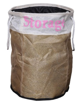 Jute Laundry Basket
