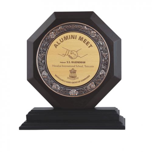 Certificate Wooden Trophy