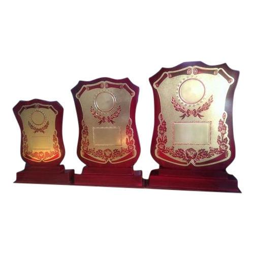 Corporate Wooden Trophy