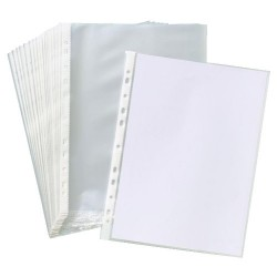 SHEET PROTECTOR OR PUNCH POCKETS