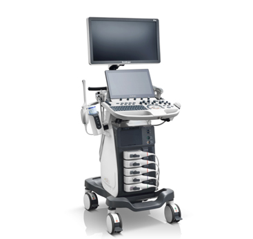 Color Doppler Trolley Based Ultrasound Scanner