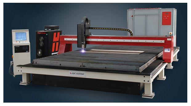 CNC Oxy Plasma Cutting Machines