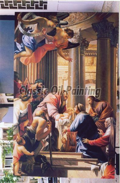 Large and huge sized reproduction of old masters paintings