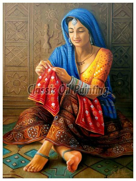 rajasthani portrait