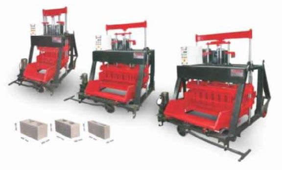 1060 Automatic Concrete Block Making Machine