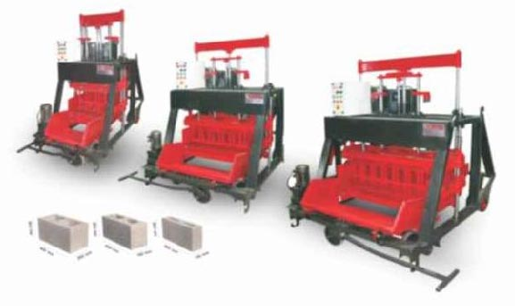 500 Automatic Concrete Block Making Machine